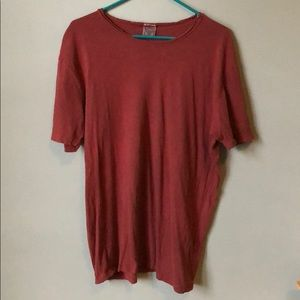 Deep Red Lucky T-shirt